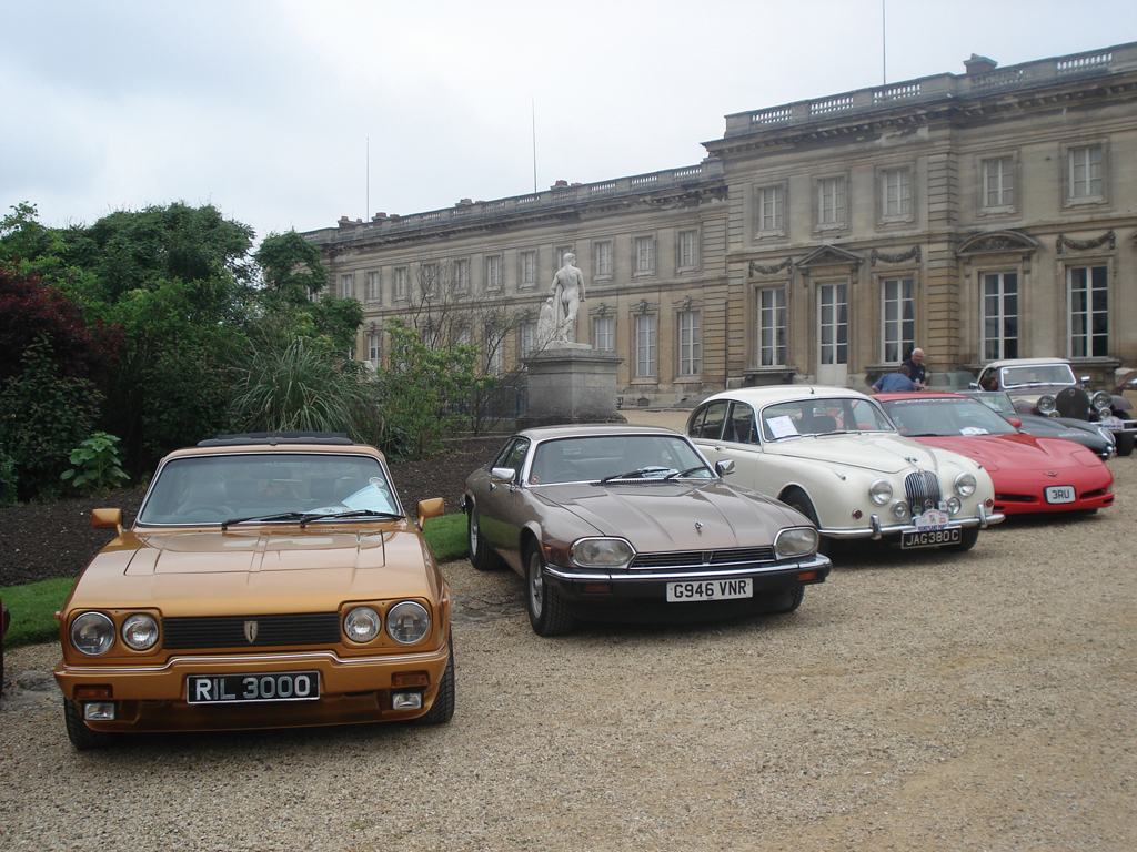 French classic car show